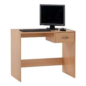 SB-Design Pascal 354-001 Tavolo per computer in legno di faggio, ca. 90x74,5x40 cm