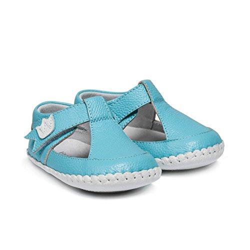 Little Blue Lamb, Scarpe primi passi bambini Blu turchese 18-24 mesi turchese