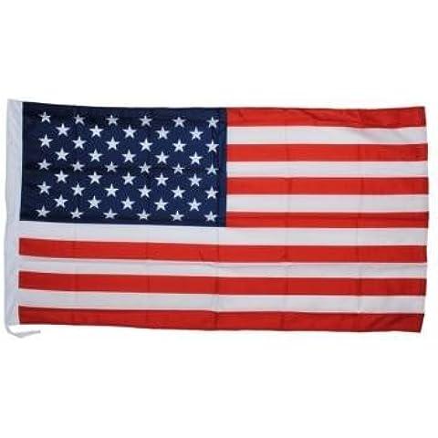 Kyz Kuv Bandiera USA Stati Uniti 1,5x 0,9m poliestere