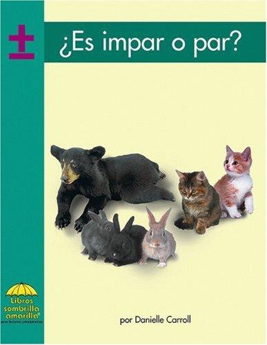 Es Impar O Par (Yellow Umbrella Books. Mathematics. Spanish.)