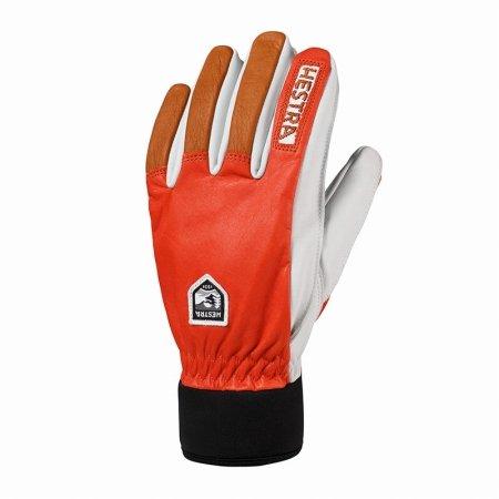 Hestra Army Leather Wool Terry Handschuhe Fingerhandschuhe