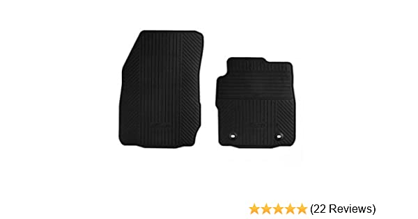NEW Genuine FORD FIESTA MK7 Rubber Car Mats 2011 Onwards FRONT /& REAR SET of 4