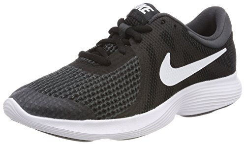 Nike revolution 4 (gs), scarpe running unisex – bambini, nero (black/white-anthr. 006), 36 eu