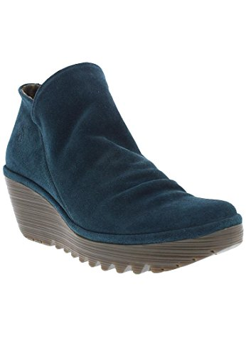 FLY London Yip Oil Suede, Bottes femme green