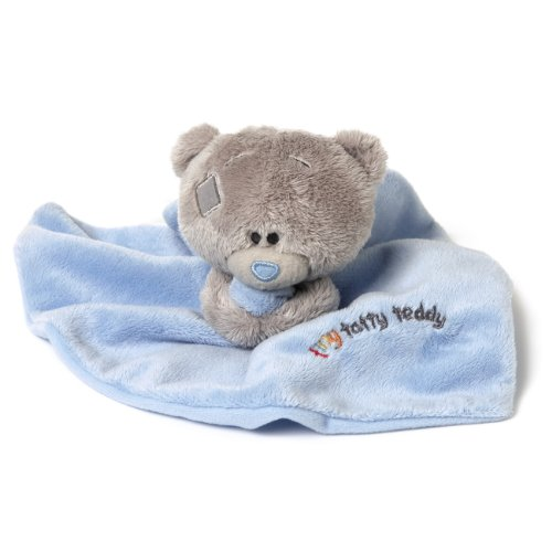Me to You Tiny Tatty Teddy Schmusetuch (blau)