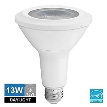 Vanlite Ampoule Lampe Spot COB LED Par30 Long goulot E27 13 W 800lumen Ampoule Eco Halogène 5000 K équivalent AC 100–240 V