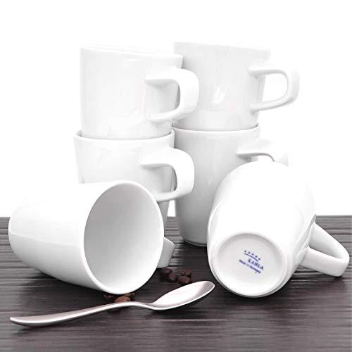 Kahla 39E103A90039C Elixyr Becher-Set, weiß Modern Kaffeebecher, 6 tlg. 6 Person 350 ml...