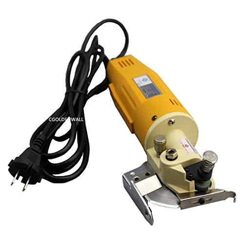 ZGUO Verbesserte Elektrische Stoff Schere Runde Messer Schneidemaschine Tuch Drehmesserschere Achtkantmesser 70m 220 V