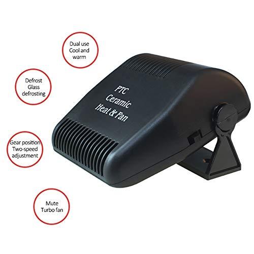 GHWWW Descongelador Calentador Automóvil 12 V Portátil