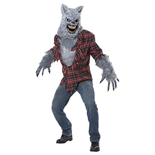 Generique - Werwolf Kostüm mit Ani-Motion Maske für Erwachsene XL
