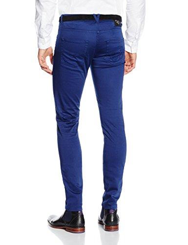 Versace Generico, Pantalon Homme Bleu (BLU MARINO - 16014)