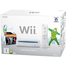 Console Wii + Just dance 2