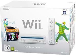 Wii - Konsole inkl. Just Dance 2, weiß