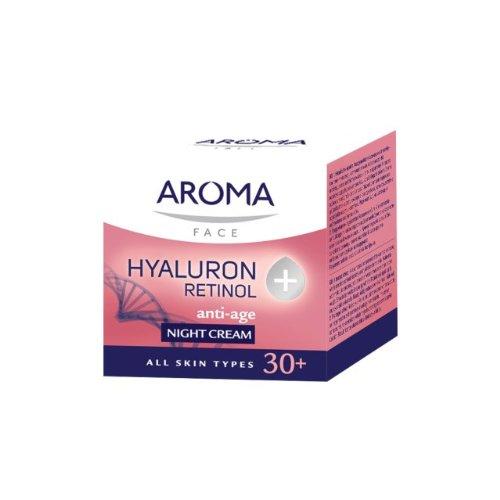 Aroma Visage CRÈME DE NUIT HYALURON + RÉTINOL 50ml