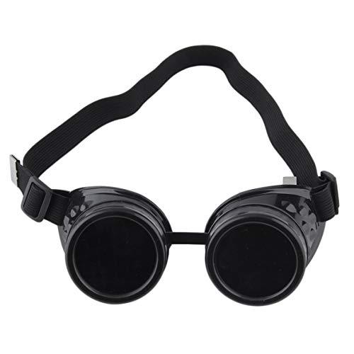 Heaviesk Cyber   Goggles Steampunk Brille Vintage Welding Punk Gothic Victorian Outdoor Sport Fahrrad Sonnenbrille