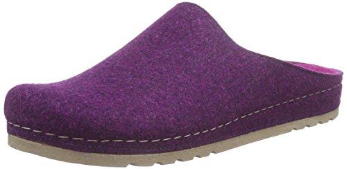 Rohde Riesa-d, Pantoufles non doublées femme Violet - Violett (57 Amethyst)