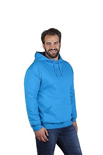 Promodoro Basic Hoodie 80-20 Plus Size Herren, 5XL, Türkis