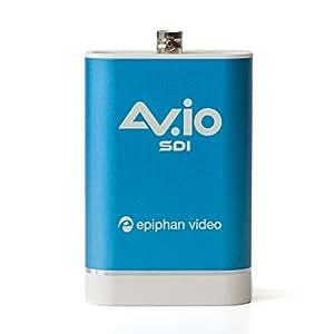 AV.io SDI - SDI Kamera- und Videomischer-Capture für Ihren Computer. 60 fps, USB 3.0. 100% verlustfreie Qualität Video Grabber. Extrem zuverlässig.