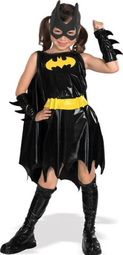 Deluxe Batgirl - Super Heroes - Kinder-Kostüm - Klein - - Ein Team Fancy Dress Kostüm