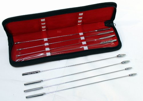 bdeals backt Rosebud Harnröhren Dilator Sounds Harnröhren 8Stück Kit 3mm bis 10mm Test