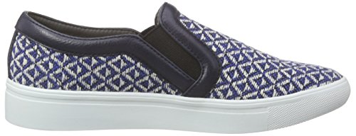 ESPRIT Damen Lizette Slip On Sneakers Blau (415 ink)