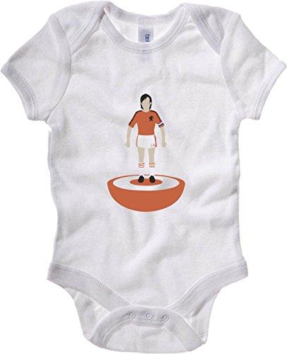 T-Shirtshock - Body neonato WC0574 Subbuteo Cruyff, Taglia 3-6mesi