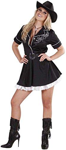 Widmann 76811 - Cowgirl-Kostüm für Damen, Größe S (Cowgirl Kostüm Für Erwachsene)