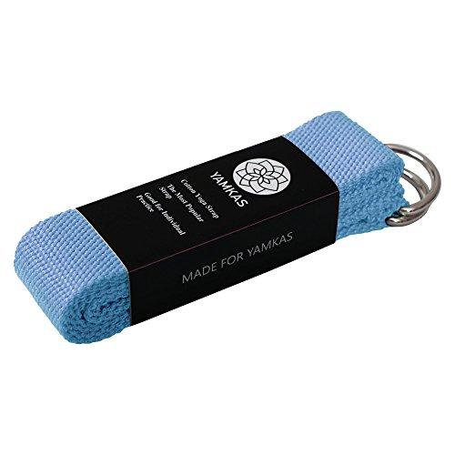 yamkas-cinghia-di-yoga-100-cotone-anello-d-in-metallo-moliti-colori-yoga-strap-belt-band-pilates-ido