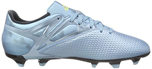 adidas Performance Messi 10.3 Fg/ag Herren Fußballschuhe Blau - Bleu (Matt Ice Metallicf12/Bright Yellow/Core Black)
