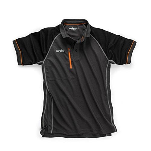Price comparison product image Scruffs supplied by The Lamp Post Scruffs Trade Active Polo T Shirt Graphite All Sizes New for 2018. Workwear Summer Clothing (XL T54442)