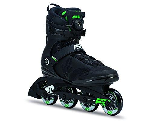 K2 Herren F.I.T. 80 Boa Inline Skates, Schwarz, 47 EU