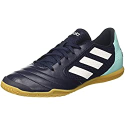 adidas Ace 17.4 Sala, Zapatillas de Fútbol Para Hombre, Multicolor (Legend Ink/FTWR White/Energy Aqua), 42 EU
