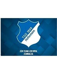 Hissflagge TSG 1899 Hoffenheim - 100 x 150 cm + gratis Aufkleber, Flaggenfritze®