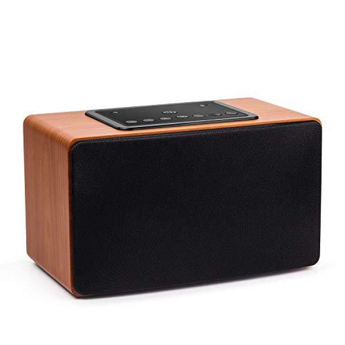 30W Wi-Fi Lautsprecher – August WS350 – Multiroom WLAN-Speaker für Musikstreaming (DLNA, Bluetooth NFC, LAN Anschluss, bis 15h Akku)