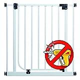 EASY STEP PREMIUM | 62cm - 222cm | Barrières sécurité qualité > blanc 83-92 cm