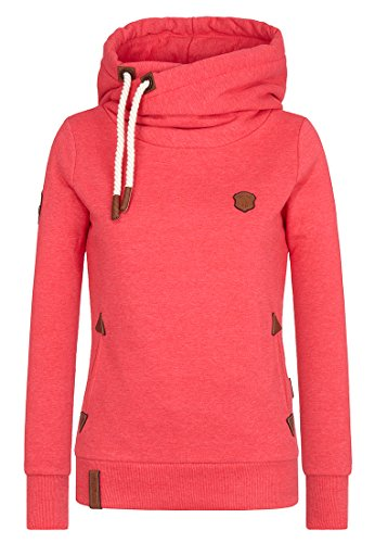 Naketano Female Hoody Darth X Cherry Melange, L
