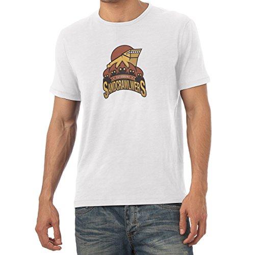 TEXLAB - Sandcrawlers of Tatooine - Herren T-Shirt Weiß