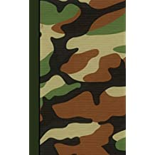 Password Journal: ID Keeper in a Diary Book to Log ~400 Internet Addresses and Security Alphabetically (A spacious, softback mid size notebook) It is from our Army Camo range (My Password Journals)