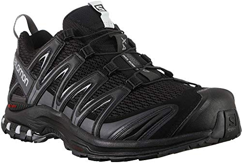Salomon XA Pro 3D, Zapatillas de Trail Running para Hombre, Negro Black/Magnet/Quiet Shade, 40 2/3...