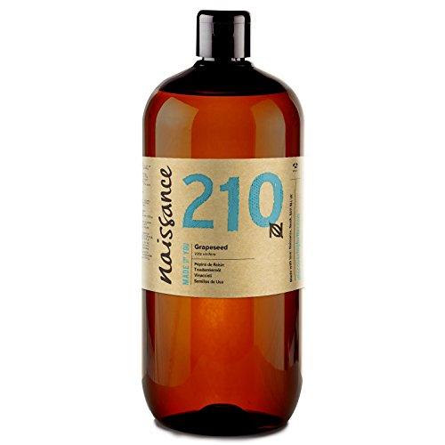 Naissance Huile de Pépins de Raisin (n° 210) - 1 litre - 100% pure et naturelle,...
