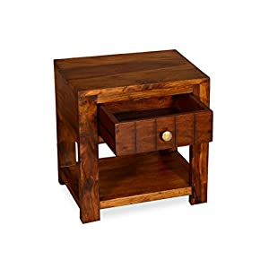 Madera WC-BD-4605-TEK Bedside Table (Teak)