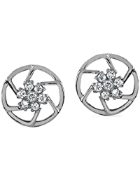 ORRA Pt 950 Platinum Diamond Stud Earrings