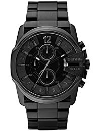 Diesel Men's Quartz Watch Master Chief Chronograph DZ4180 with Metal Strap