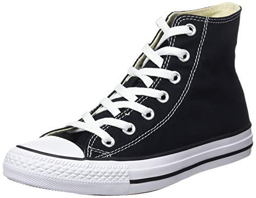 Converse Chuck Taylor all Star Hi M9160, Sneaker a Collo Alto Uomo, Nero (Black M9160c), 37 1/2 EU