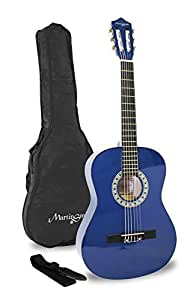 Martin Smith 34 inch 1/2 Size Classical Guitar - Blue