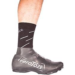 VELOTOZE Strong Baja couvres Zapatos Latex-vtt Mixta, Color Negro, tamaño M - 40,5/45,5
