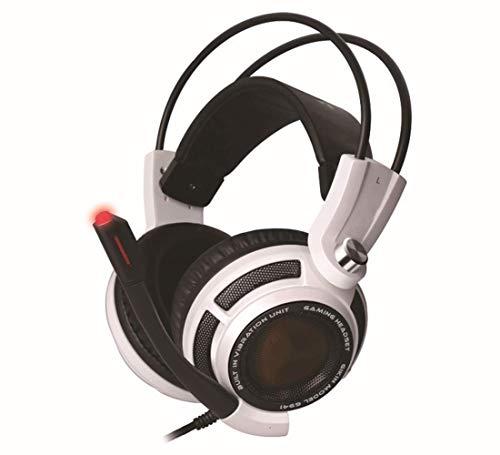 XHN Auriculares estéreo para Juegos para Xbox One, PC, PS4, Bajos, Sonido Envolvente de Alto Rendimiento, micrófono con Tapa, Compatible con Nintendo Switch y Playstation 4 Pro