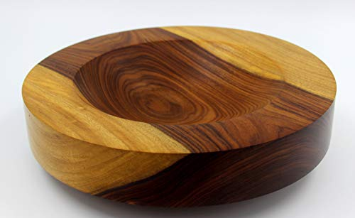 Design-Schale aus Santos Palisander