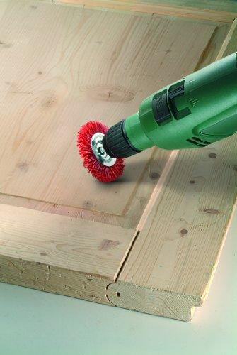 alambre de nil/ón con medio de lijado de corind/ón grano K80 75 mm Cepillos de vaso para taladradoras Bosch 2 609 256 525