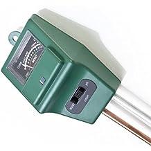 WINOMO 3 in 1 Tester Tester luce PH metro misuratore suolo per giardino pianta fiore erba prato